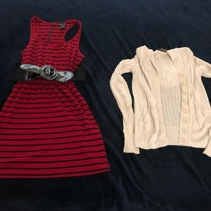 Outfit bundle- Armani Exchange Sweater and Dress